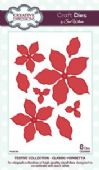 Sue Wilson Craft Dies - Festive Collection - Classic Poinsettia – CED3008